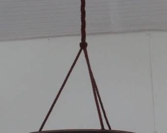 Muller ceiling lighting lamp art deco pate de verre lamp