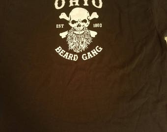 Ohio Beard Gang Tee