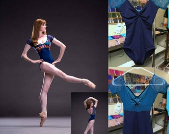 Ready to Wear - S - Amanda - Short Sleeve Leotard