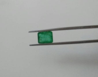 1.51 Cts Natural Emerald Octagon