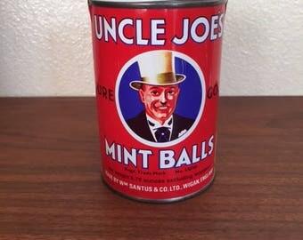 Uncle Joe's Mint Balls Tin