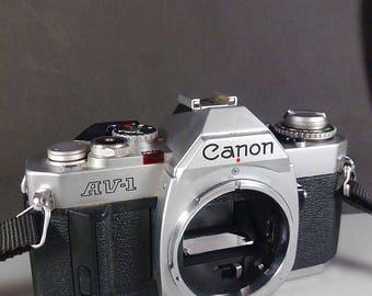 Canon AV-1 Vintage 35mm SLR Camera FD mount Body