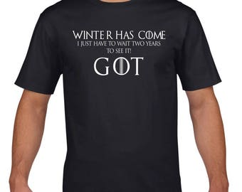 Game of Thrones: Winter Has Come Tee Shirt