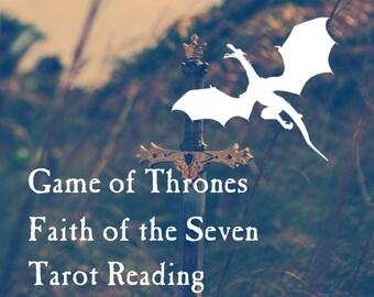 Game of Thrones: Faith of the Seven Tarot Reading