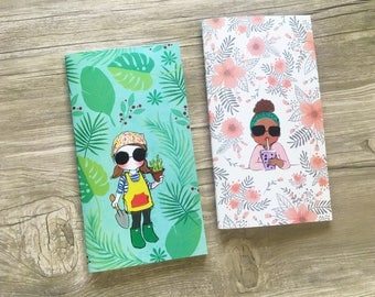 Miss Lily Shades notebook Floral Collection