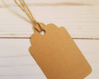 Blank》GIFT TAG《Favor/Gift Tag/DIY/Wedding Thank You/Bridal Shower/Baby Shower/Party