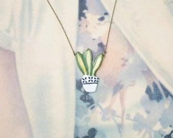 Plants Necklace
