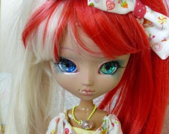 Pullip MIO mocha skin full custo - Peppermint cherry