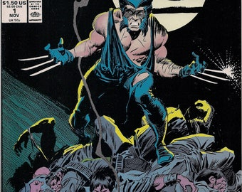 Marvel Comics, WOLVERINE 1, Logan, Patch, The X-MEN, Chris Claremont, John Buscema, Al Williamson, Marvel Cinematic Universe