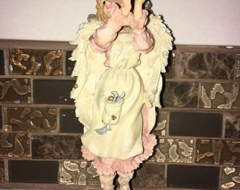Boyds Bears & Friends® Collectibles- The Moving Moon Went Up the Sky Figurine