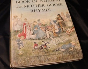 Marguerite De Angeli's Book of Nursery and Mother Goose Rhymes c. 1954