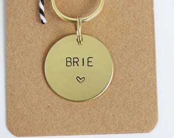 Dog ID Tag - Personalised with name