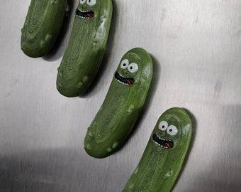Pickle Rick Magnets 3D | Rick & Morty