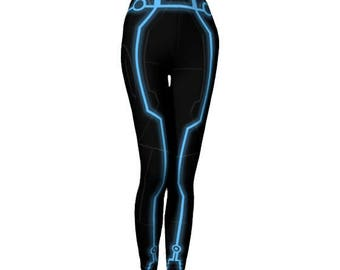 Tron Inspired Leggings
