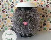 Crochet Pattern Cat Mug Cozy Pattern, Amigurumi Cat, Crochet Cat Pattern, Tea Cozy Pattern, Easy Crochet Pattern, Crochet Gift Ideas