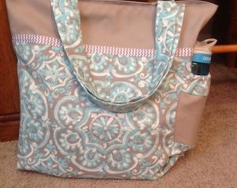 Reversible Canvas Tote Bag