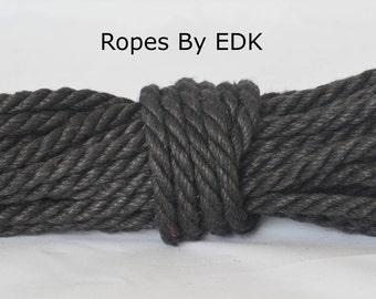Black Jute Bondage Rope