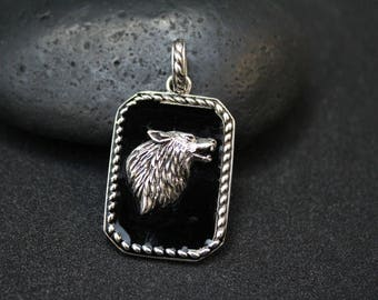Lone Wolf Jewelry Etsy