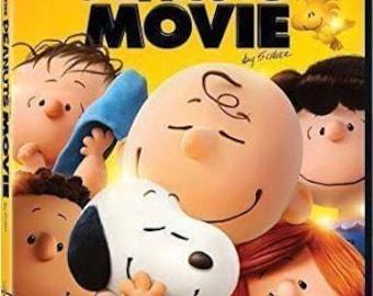 Brand New PEANUTS Gang Movie DVD