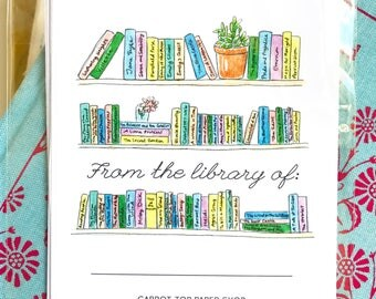 Bookplates- Personal - Set of 8