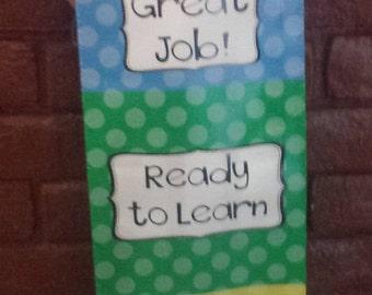 Polka Dot Behavior Clip Chart - 1' x 4'  - Classroom - Teacher - Homeschool