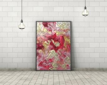 modern art, digital download, digital print, living room decor, poster print, printable wall art, abstract painting, housewarming gift, art