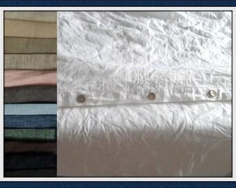White LINEN duvet cover dark grey bedding green duvet cover Eco Natural Linen Bedding Single duvet cover custom size,Handmade bed linen