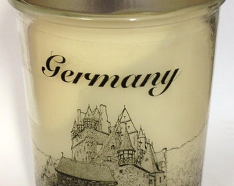 Burg Eltz 14 oz. Double Wicked  Ms. T's Scented Candle 70 Hour Burn Time Rapeseed Wax Duft Kerzen