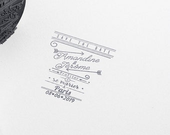 Custom Wedding Rubber Stamp, wording - custom Stamps - custom Self-Inking-for wedding favors - custom gift