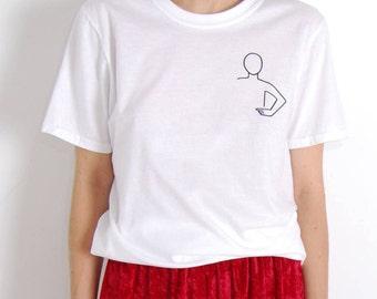 My Shirt – White Graphic T-Shirt