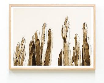 Cactus Art Poster, Cactus Print, Cacti Decor, Cacti Print, Desert Print, Cacti Art Print, Desert Art, Cactus Wall Decor, Modern ARt