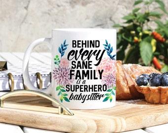 Babysitter Coffee Mug - Babysitter Gift - Gifts For Babysitter - I Love My Babysitter Gift - Babysitters Mug - Babysitter Welcoming Present
