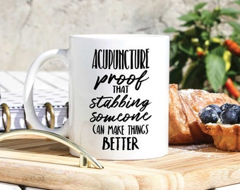 Acupuncturist Coffee Mug - Funny Gifts For Acupuncturist - Acupuncturist Gifts- Acupuncture Funny - Acupuncture Gifts- Alternative Medicine