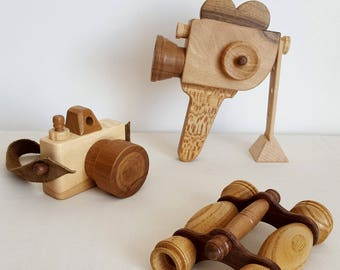 Wooden camera for kids - Mastro Jouets