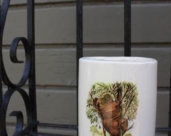 Koala Ceramic Vase | Vintage Graphic