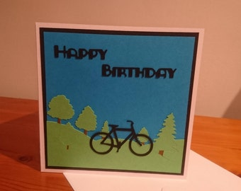 Bicycle / Cycling birthday card