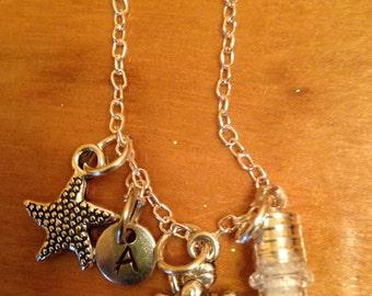 Sand Globe Chain Necklace