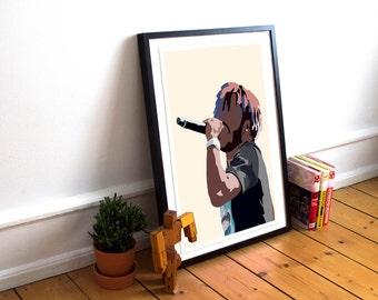 Lil Uzi Vert INSPIRED Poster / Hip Hop Poster / Minimalist Poster / Music Poster / Home Decor / Gift / Lil Uzi Vert /Rap Poster / Rap Artist