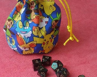 Gen Six Pokemon Dice Bag