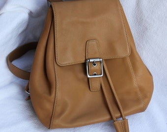 Vintage Coach Legacy Backpack Tan Style 9569