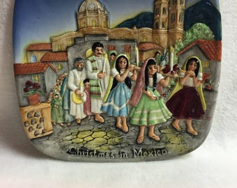 Royal Doulton Beswick - Christmas in Mexico Collector Plate (#104)