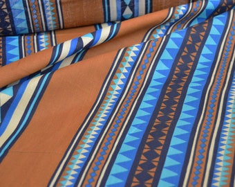Aztec fabric by the yard, tribal Print ethnic native, novelty Fabric African Fabric Africa African Fashions