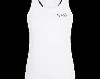 Flems heart tank top