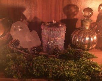 "Magic Candle ""Awakening Goddess"" Ritual Candle Dragon Treasures Magic Wicca Pagan Occultism"