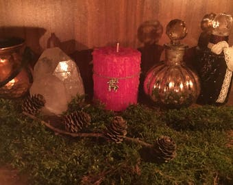 Aries Astrology Zodiac Candle Dragon Treasures Magic Occult Magick Candlemagic Aries