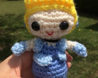 Cinderella - Disney Princess Amigurumi Crochet Doll