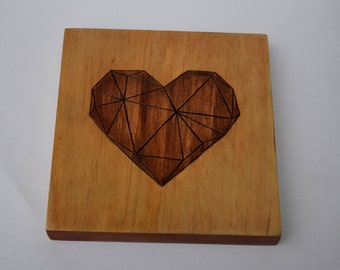 Dark Polygon Heart