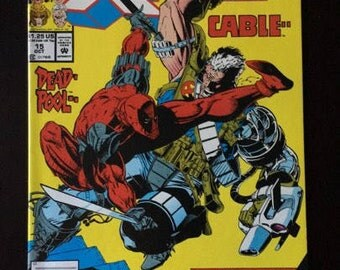 X-Force #15 Deadpool Cable