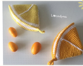 Potholders lemon and Orange Potholder Lemon and Orange
