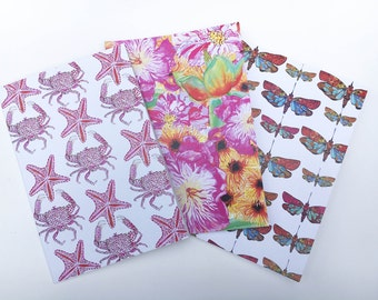 Pack of 3 A5 Illustrated notebooks